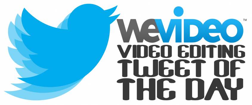 "Permalink to: ""WeVideo's ""Video Editing Tweet of the Day"" Contest"""
