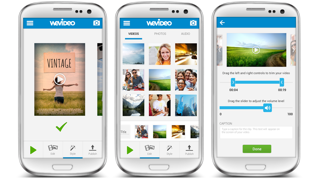 WeVideo Video Editor for Android
