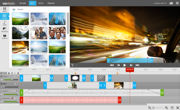 "Permalink to: ""WeVideo 3.0. Video Creation. Easier Than Ever."""