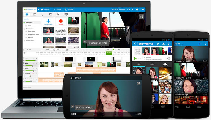 """Permalink to: """"Easy-to-Use Online Video Creation Platform to Empower Journalists"""""""