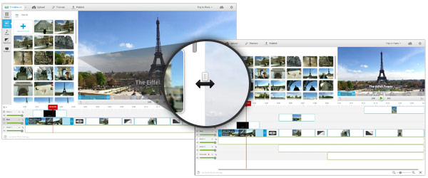 WeVideo Preview Window Resize