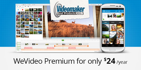 WeVideo Videomaker Best Product 2013