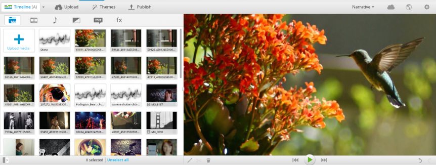 """Permalink to: """"Personal Narrative and Digital Storytelling with WeVideo [Part 3]"""""""