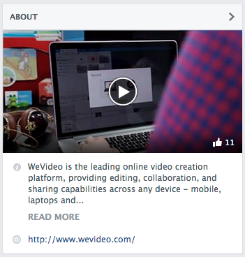Facebook Featured Video