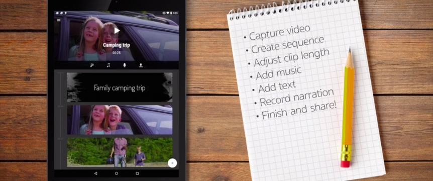 "Permalink to: ""Newly Reimagined Video Editing App for Android"""
