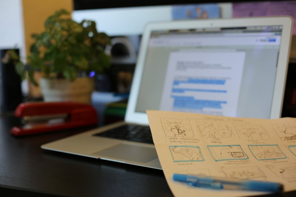 WeVideo Pre-Production Storyboard