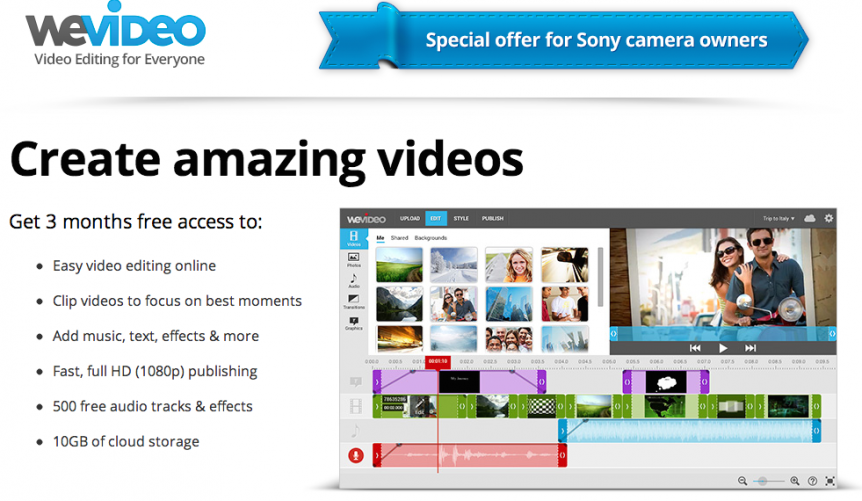 """Permalink to: """"Sony Camcorder Customers Aim for the Cloud As The World Becomes More Media Savvy"""""""