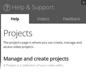 WeVideo Help and Support