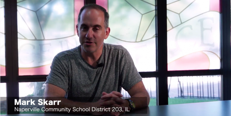 "Permalink to: ""WeVideo Educator Interview: Mark Skarr, Naperville CSD 203"""