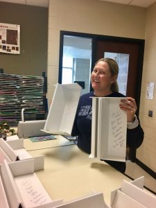 Heather Adams with Chromebook Stands