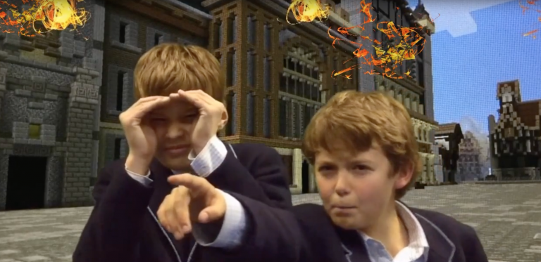 "Permalink to: ""Knightsbridge Students Dive In and Share the Experience of the Great Fire of London"""