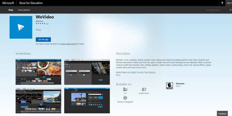 "Permalink to: ""Exclusive Features Come to WeVideo for Microsoft Windows"""
