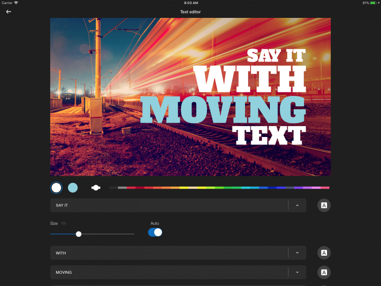 """Permalink to: """"Motion Titles Go Mobile on iOS"""""""