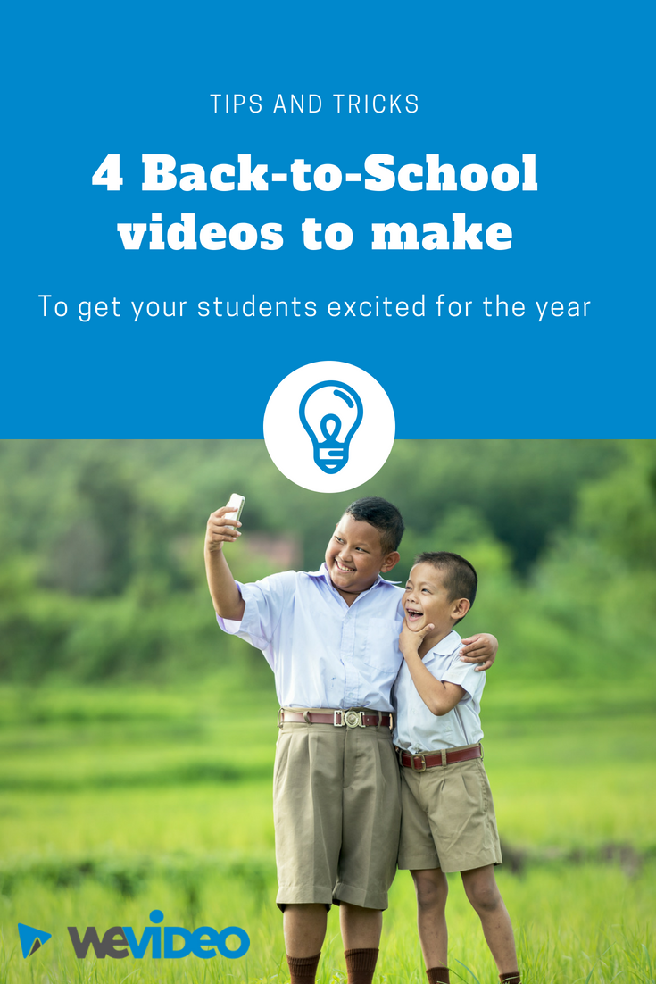 "Permalink to: ""How to make a back-to-school video to get your students excited for the year"""