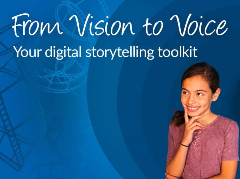 """Permalink to: """"Jumpstart video creation in classrooms with WeVideo's Digital Storytelling Toolkit"""""""