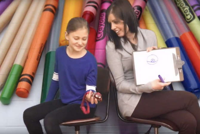 Student-produced morning announcements