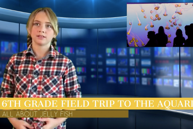 Newscast template