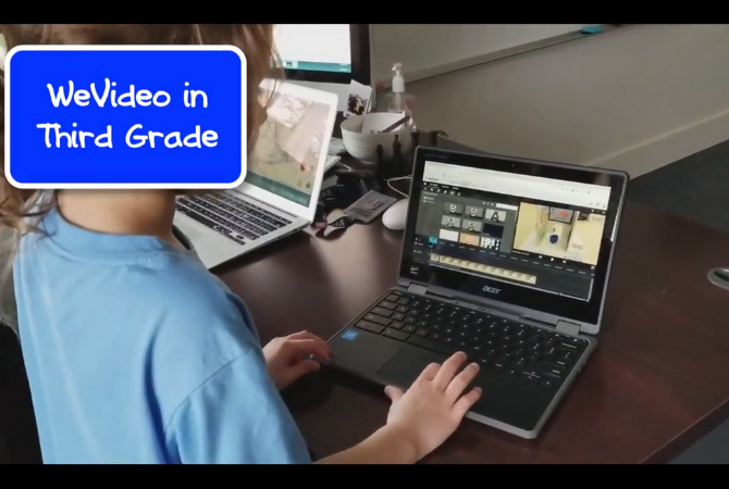 3rd grade walk through of WeVideo