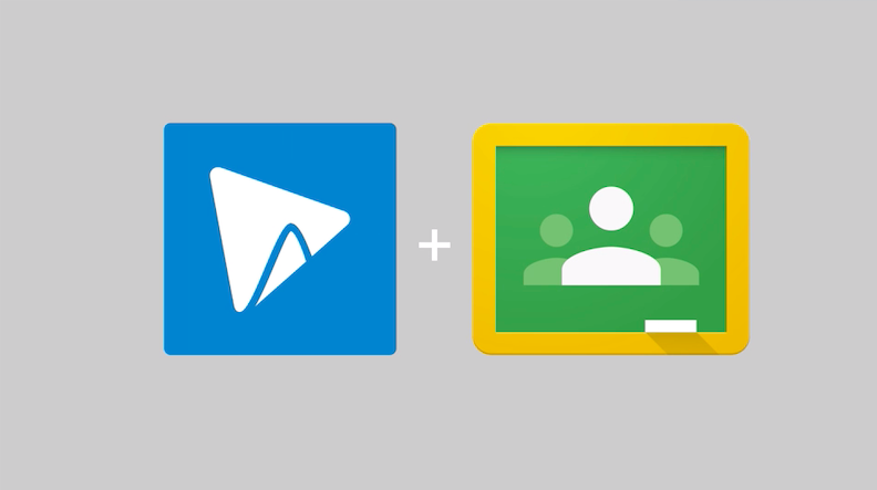 Submit videos to Google Classroom