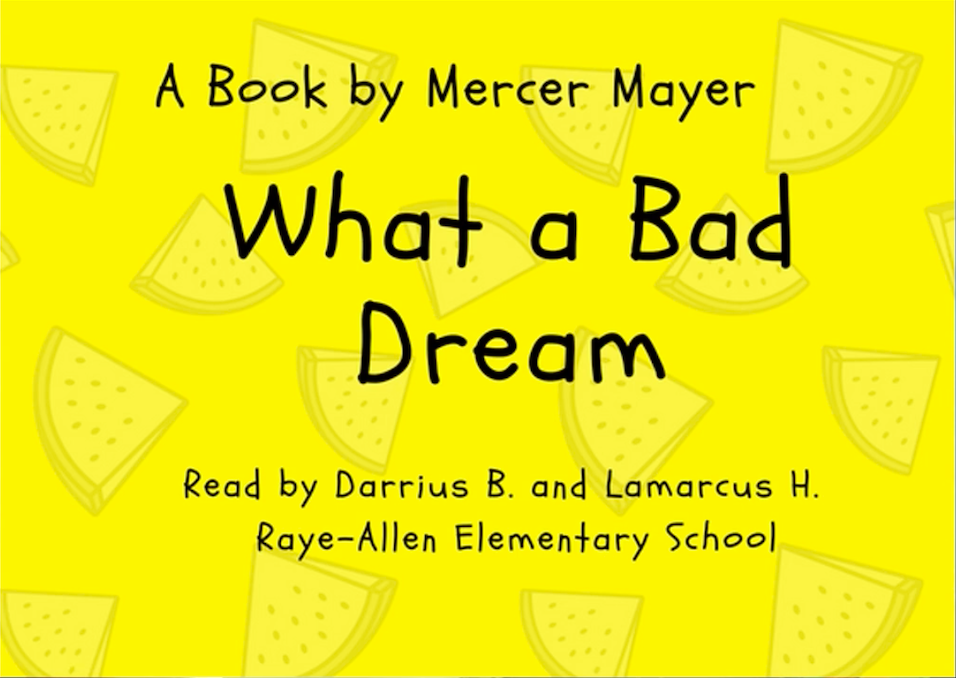 "Read like a teacher: ""What a Bad Dream,"" by Mercer Mayer"