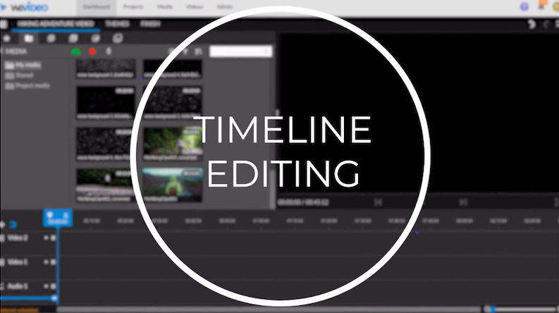 Timeline editing mode
