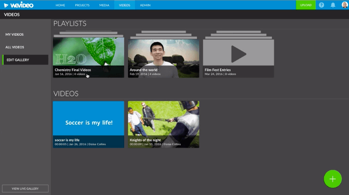 """Permalink to: """"4 ways to showcase student work with WeVideo galleries and playlists"""""""