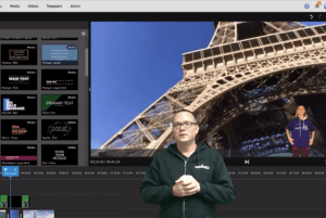 Google Earth: screencast + green screen