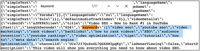 How to find YouTube SEO keywords