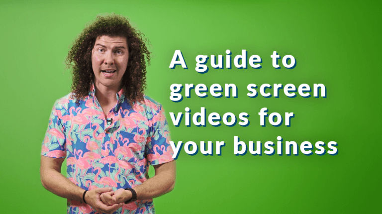 """Permalink to: """"A guide to green screen videos for your business"""""""