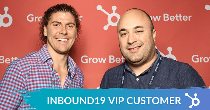 Hubspot Inbound - Jason and Max