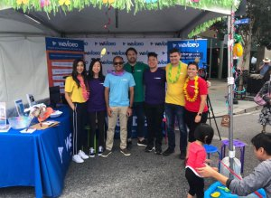 WeVideo attends Mountain View Art & Wine Festival