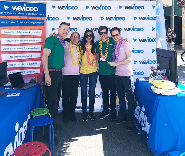 "Permalink to: ""WeVideo attends the Mountain View Art & Wine Festival"""