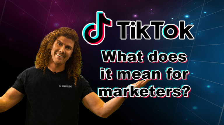 "Permalink to: ""TikTok: What does it mean for marketers?"""