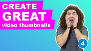 Incorporating text into your video thumbnail