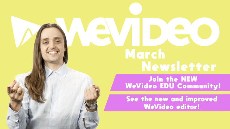 "Permalink to: ""Video newsletter: The all-new WeVideo Creator Community"""