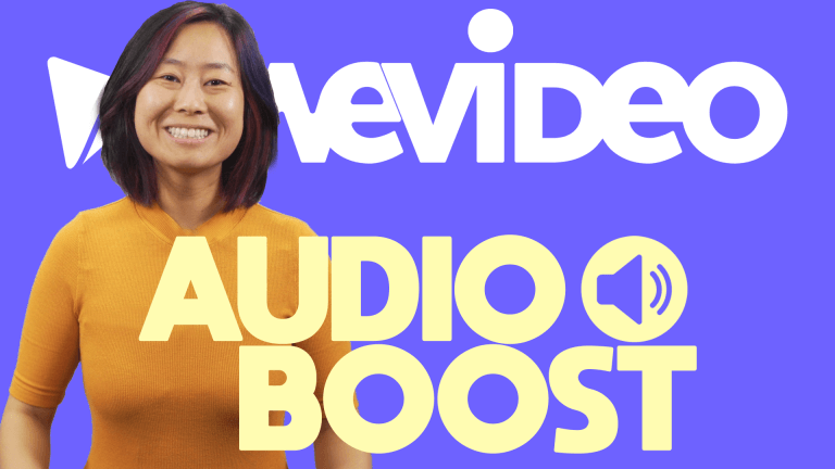 """Permalink to: """"Product Update: Be heard with Audio Boost from WeVideo"""""""