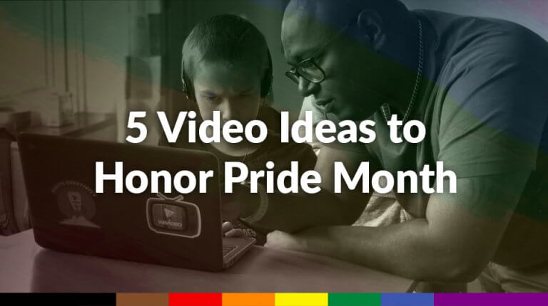 """Permalink to: """"5 video ideas to honor Pride Month"""""""