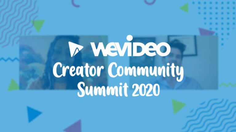 "Permalink to: ""Highlights from WeVideo's Creator Community Summit 2020"""
