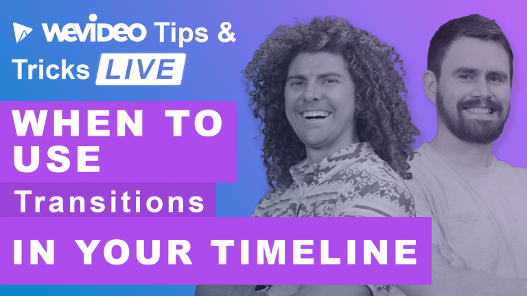"""Permalink to: """"When and how to use video transitions"""""""