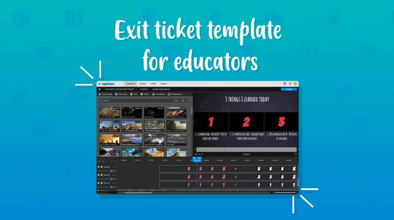 "Permalink to: ""New! Exit ticket template for educators"""