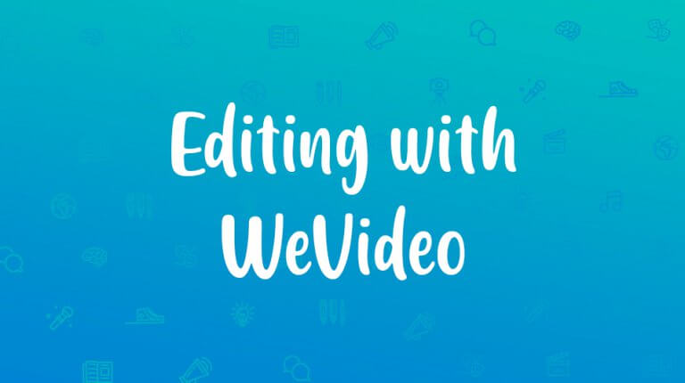 "Permalink to: ""Editing with WeVideo"""