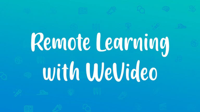 """Permalink to: """"Remote Learning with WeVideo"""""""